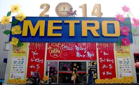 Siêu thị Metro khuyến mại lớn tới 49% dịp Tết