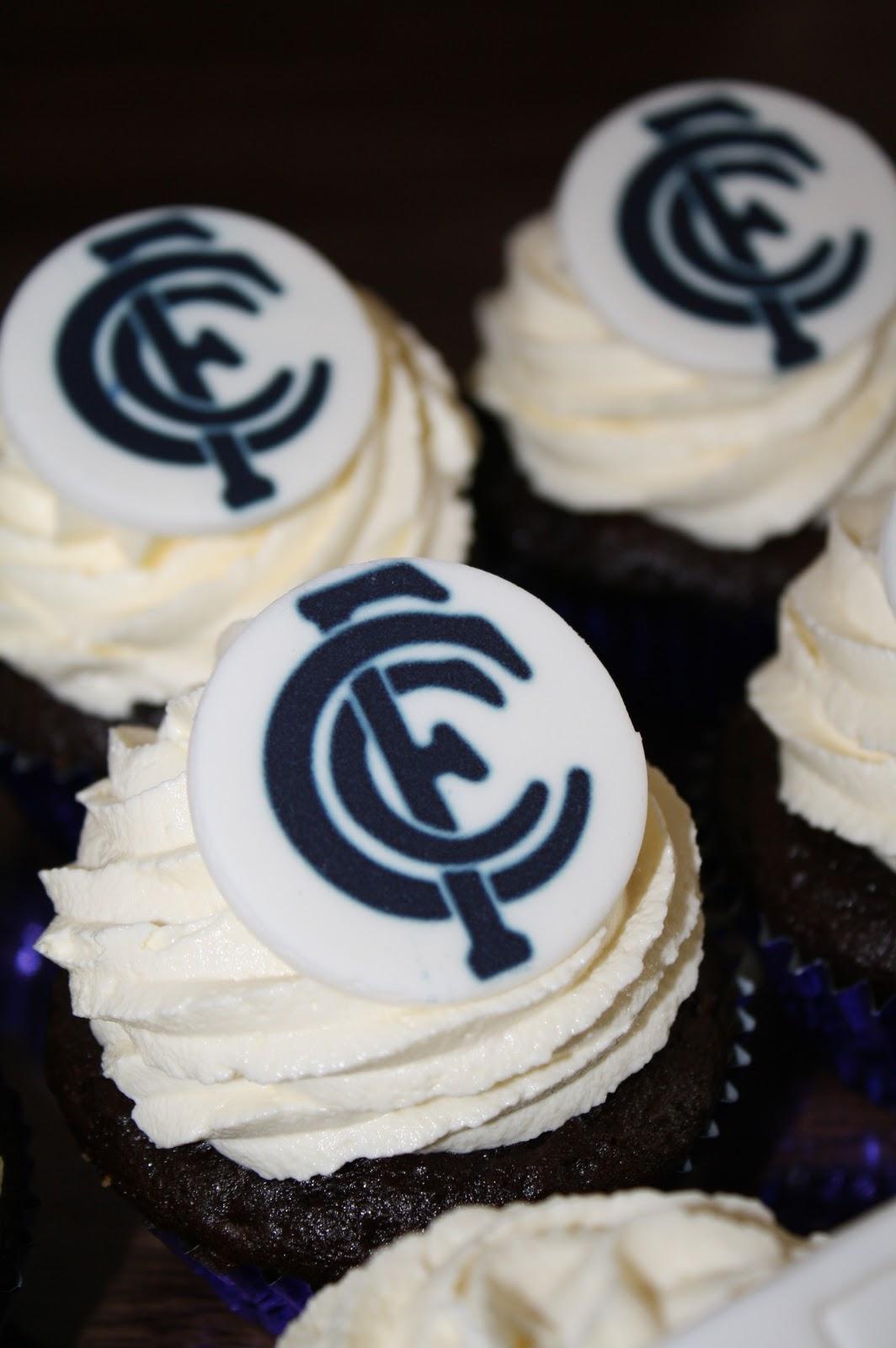 Sandys Cakes Brads Carlton 40th Birthday Cupcakes