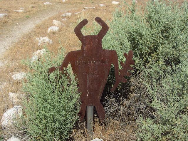 cut metal sign