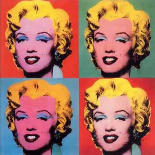 Marilyn Monroe, uno de los cuadros más famosos de Andy Warhol