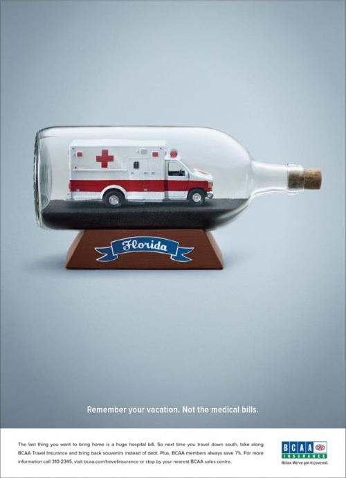 Реклама страховой компании