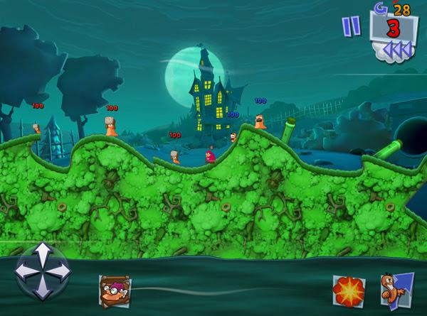 Team17 xác nhận sẽ có Worms 3 cho thiết bị iOS 10