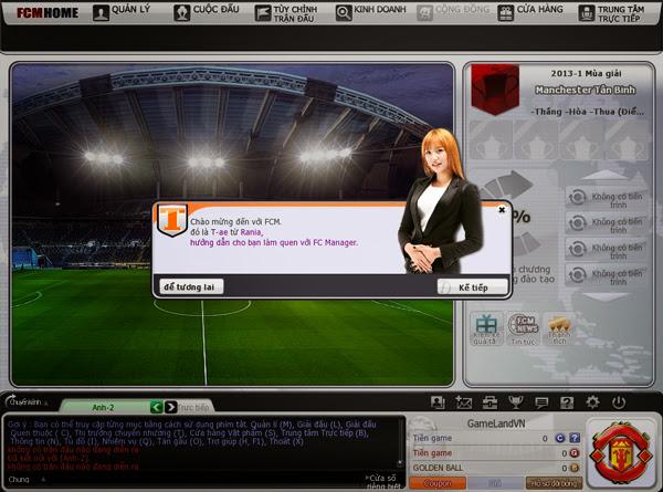 FC Manager khởi động phiên bản Closed Beta 1