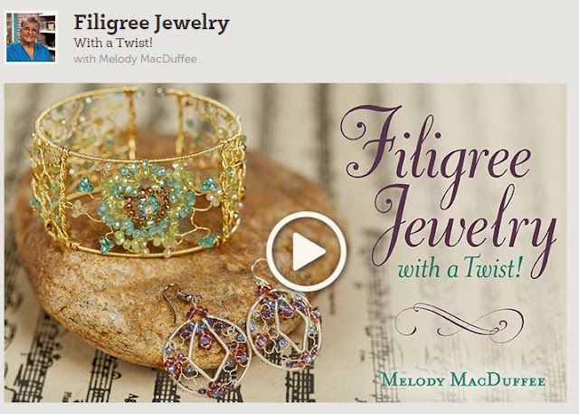 Filigree Jewelry with a Twist Virtual Beading Class with Melody MacDuffee