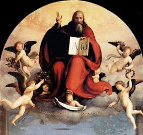 Fra Bartolomeo (1509), Dios Padre