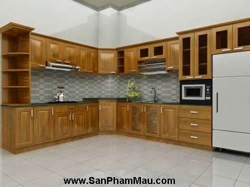 Các mẫu tủ bếp gỗ công nghiệp-4