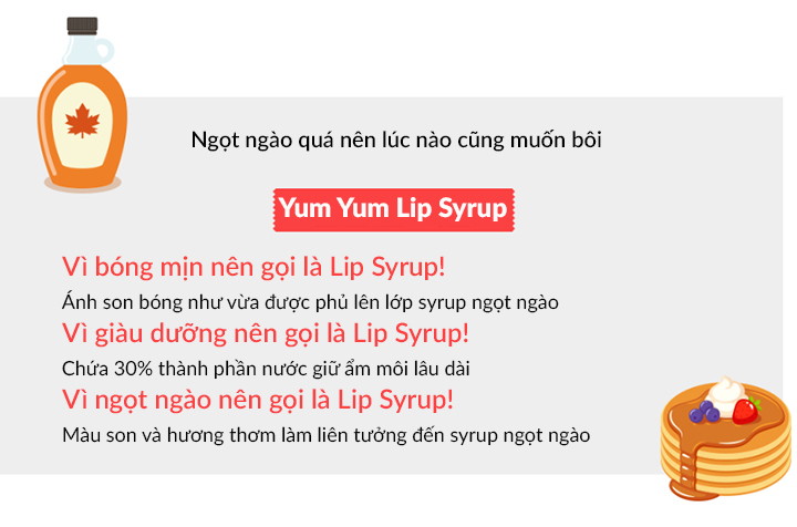 The Saem Saemmul Yum Yum Lip Syrup