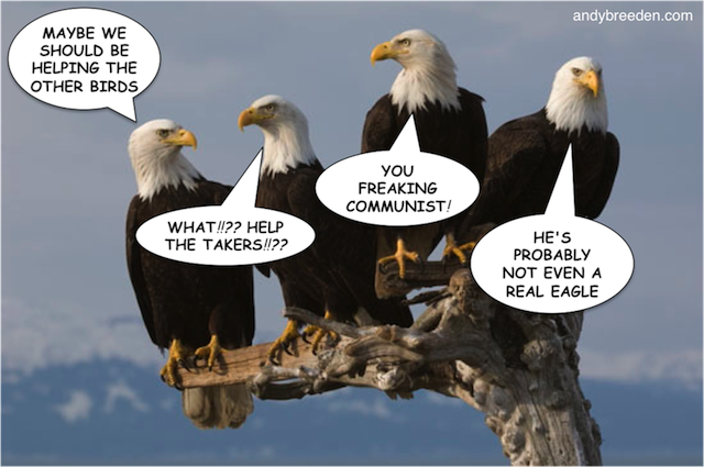 Tea Party Eagles