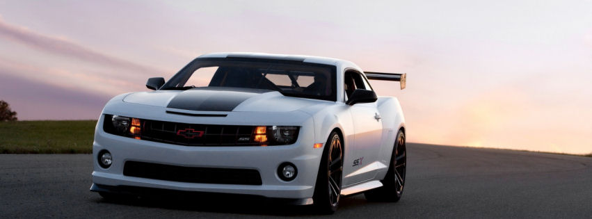 Chevrolet camaro ssx facebook cover