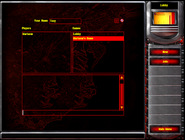 Red Alert 2 - Multiplayer Lobby