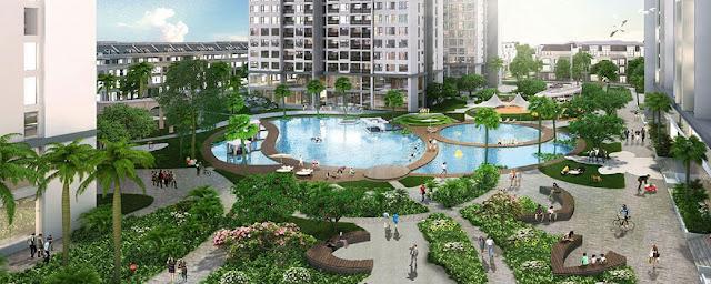 Kết quả hình ảnh cho chung cư xanh an bình city