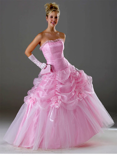 abendkleid rosa - rosa kleider - rosa kleid