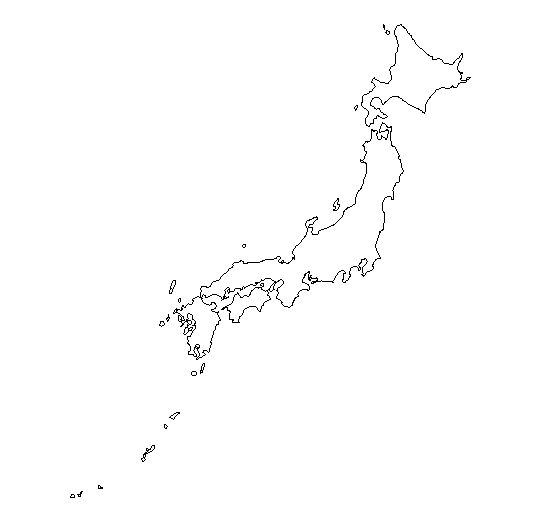 Niños Mapa De Japon Para Pintar | www.imagenesmy.com