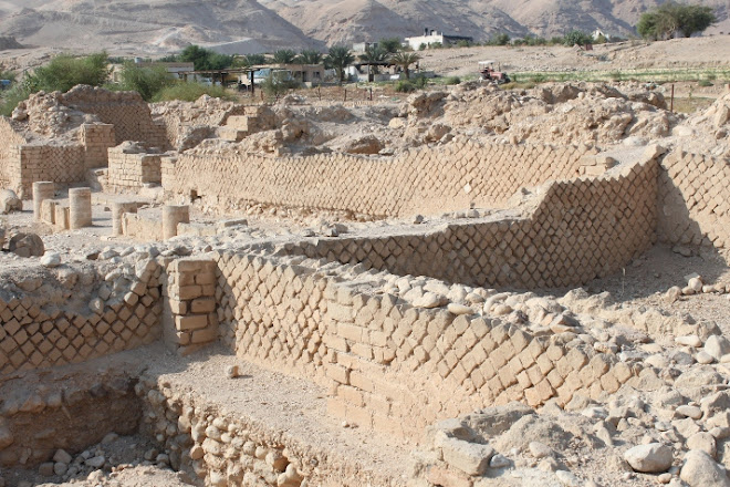 The third palace of King Herod on the western side of Jericho