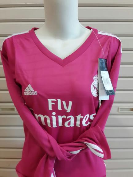Jersey Ladies Real Madrid Away 2014-2015 Lengan Panjang