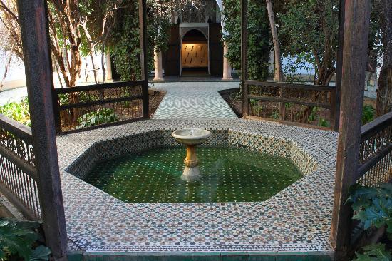Fuente Museo Arte Marruecos