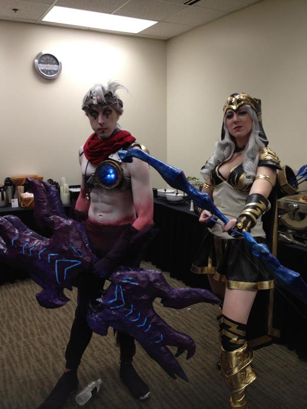 Missyeru và cosplay Ashe tuyệt đẹp tại Pax Prime 2012 - Ảnh 3