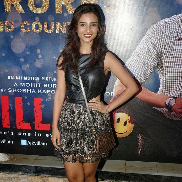 Patralekha attends the success party of Bollywood movie 'Ek Villain', held at Ekta Kapoor's residence on July 15, 2014.(Pic: Viral Bhayani)