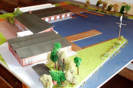 Maquette Nieuwbouw WIllem III
