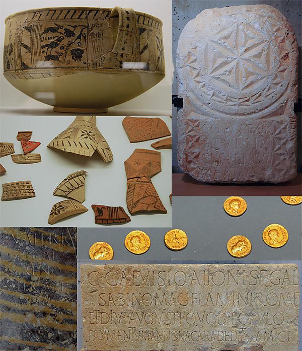 Colonia Clunia Sulpicia - Objetos encontrados