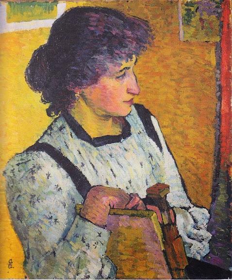 Giovanni Giacometti - Annetta. 1911