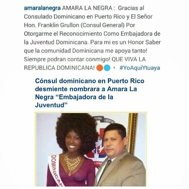 Se guay amara c nsul dominicano en puerto rico niega que for Que es un consul