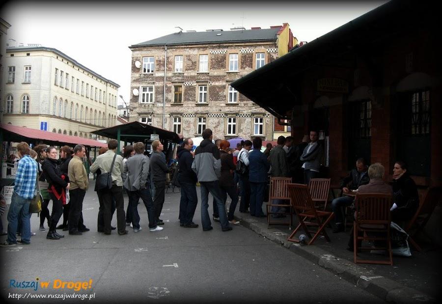 Kraków - zapiekanki u Endziora na Kazimierzu