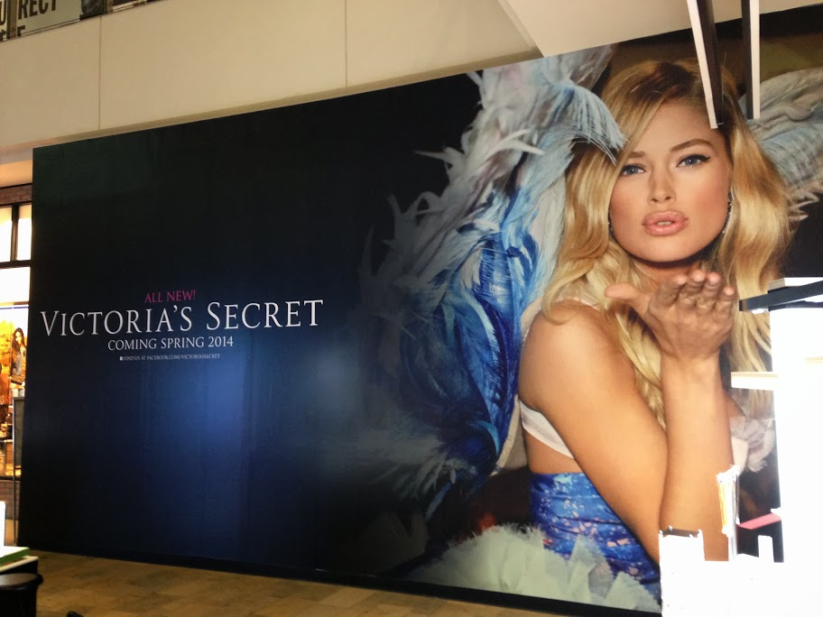 Victoria's Secret Barricade Wrap Las Vegas