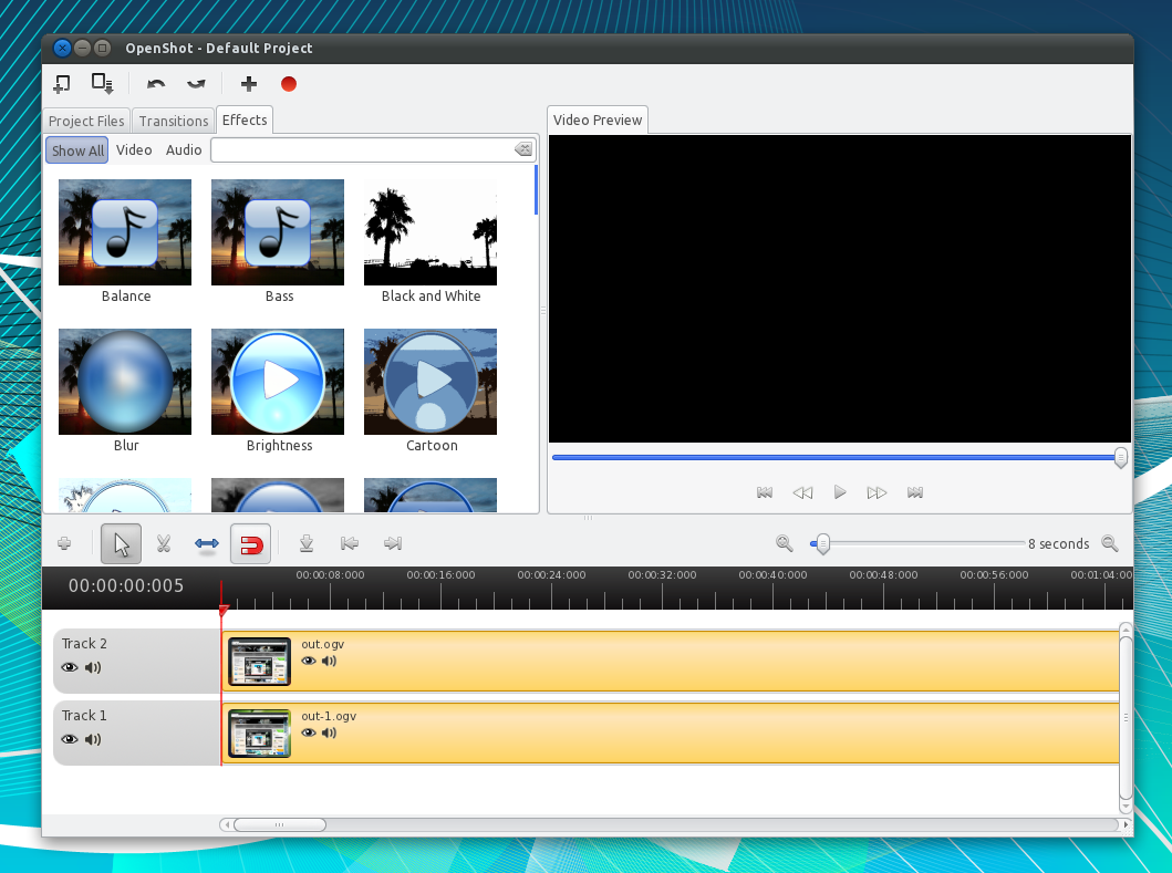 OpenShot Video Editor Reaches Version 1 4, Gets New Effects