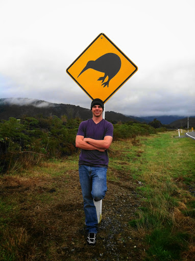 Brad Miner in NZ. #StudyAbroadBecause The World is Waiting
