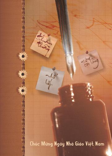 Ảnh 20-11 có hình cây bút và lọ mực