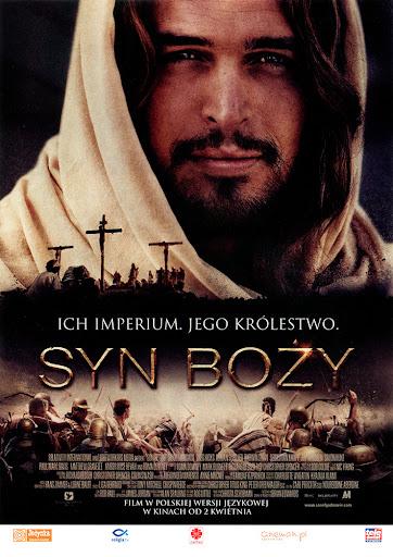 Przód ulotki filmu 'Syn Boży'