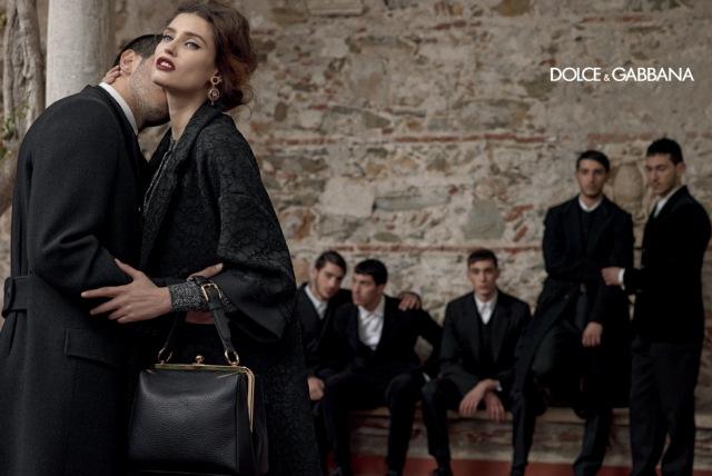 *戲劇性的拍攝手法:Dolce & Gabbana 2013秋冬形象照 1