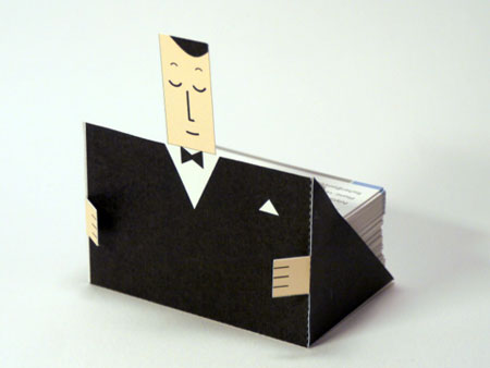 Business Card Butler Papercraft