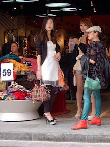 Chengdu - Girls about town