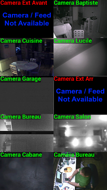 IP CAM Viewer mosaique
