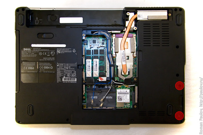 Как разобрать ноутбук Dell Inspiron 1525 3