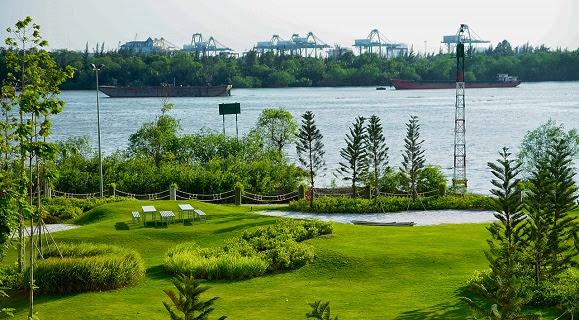 Đảo Kim Cương – Điểm dừng chân lý tưởng Dao-kim-cuong-mot-mang-xanh