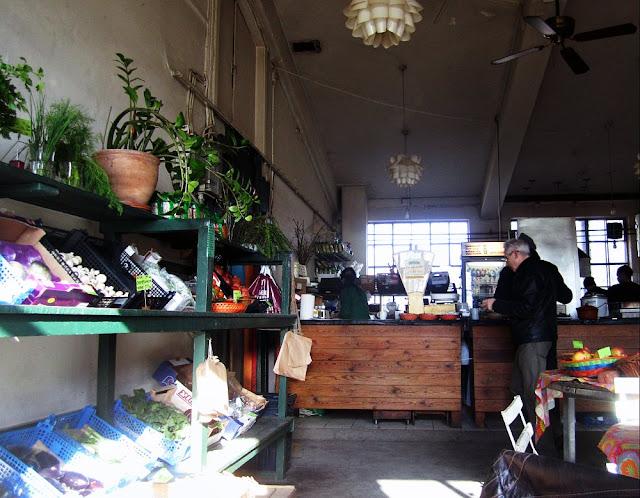Grønsagen cafe, Christiania
