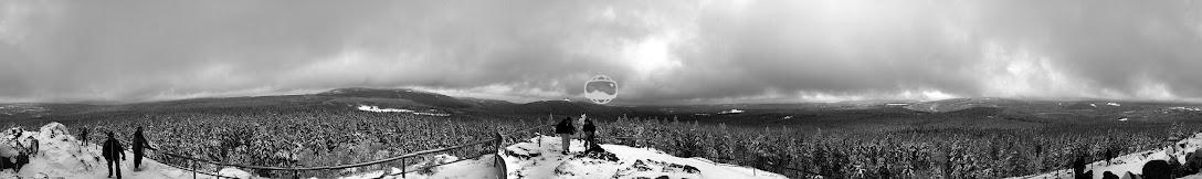 360° Panorama von der Achtermannhöhe