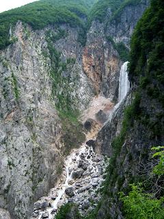 Vodopád Boka