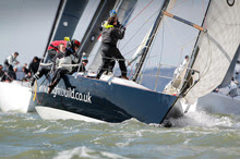 J/35 sailing at RORC Easter Challenge 2013