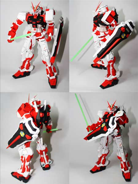Gundam Astray Papercraft
