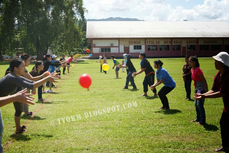 Pertandingan melontar belon goshen 2013 (AIM)