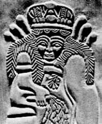 Ninhursag Sumarian Goddess Of Fertility Image