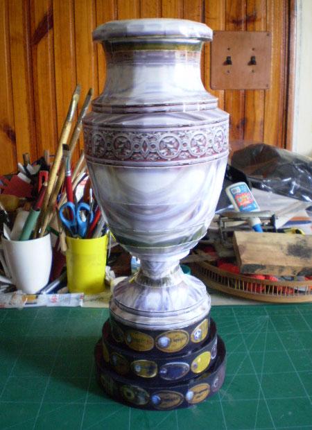 2011 Copa America Trophy Papercraft