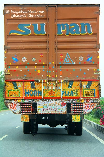 Horn please - OK - Tata - Truck slogans in India