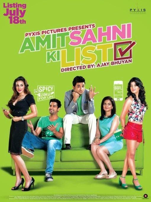 Poster Of Hindi Movie Amit Sahni Ki List (2014) Free Download Full New Hindi Movie Watch Online At alldownloads4u.com