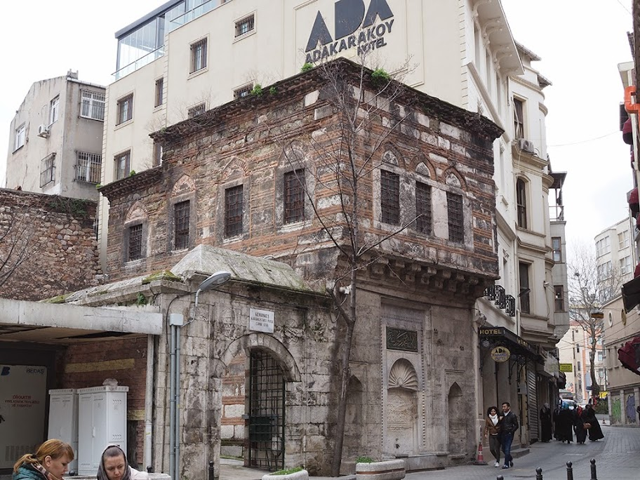 karakoy historical building