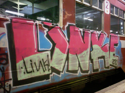 linke graffiti